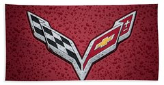 C7 Badge Bath Towel