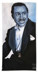 Cab Calloway Hand Towel by Chelle Brantley