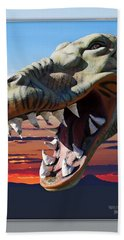 Cabazon Dinosaur Bath Towel