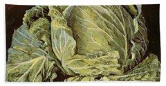 Cabbage Still Life Hand Towel