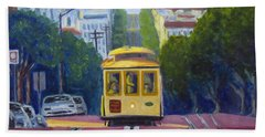 Cable Car Hand Towel