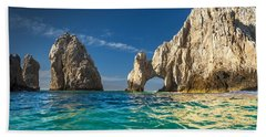 Bath Towel featuring the photograph Cabo San Lucas by Sebastian Musial