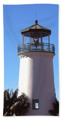 Cabrillo Street Lighthouse Hand Towel