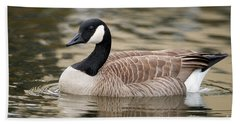 Cackling Goose Bath Towel by Sharon Talson