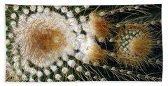 Cactus Close-up Bath Towel by Joyce  Wasser