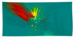 Bath Towel featuring the digital art Cactus Flower by Victoria Harrington