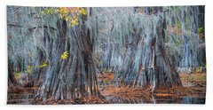 Caddo Lake Fall Hand Towel