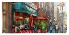 Cafe - Hoboken Nj - Vito's Italian Deli  Hand Towel