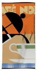 Cafe Noir Hand Towel