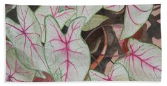 Caladiums Hand Towel