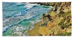 Californa Shore Hand Towel