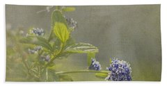California Lilac Hand Towel by Clare Bambers