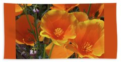 California Poppies Hand Towel