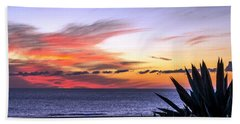 California Sunset Bath Towel by Mike Ste Marie