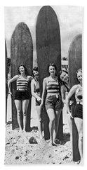 California Surfer Girls Bath Towel
