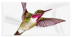 Calliope Hummingbird Bath Towel