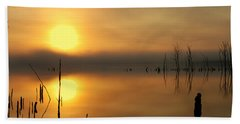 Calm At Dawn Hand Towel by Roger Becker