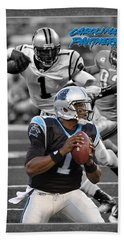 Cam Newton Panthers Hand Towel