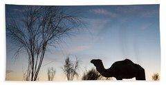 Camel Sunset Hand Towel