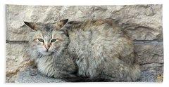 Camo Cat Bath Towel