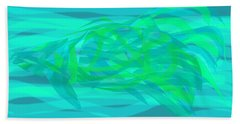 Hand Towel featuring the digital art Camouflage Fish by Stephanie Grant
