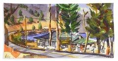 Camp Penuel At Lake Killarney Hand Towel