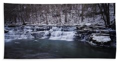 Campbell Falls Hand Towel by Melissa Petrey