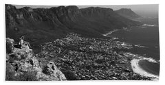 Camps Bay View Cape Town Hand Towel