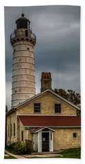 Cana Island Lighthouse By Paul Freidlund Bath Towel