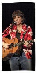 Canadian Folk Singer Lynn Miles Hand Towel