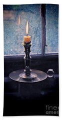 Candle In The Window Bath Towel
