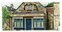Bath Towel featuring the photograph Candleford Post Office by Paul Gulliver