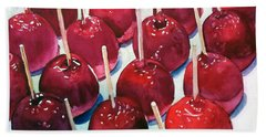 Candy Apples Bath Towel