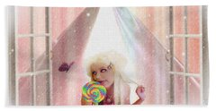 Candy Kisses Hand Towel by Liane Wright