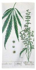 Cannabis Bath Towel