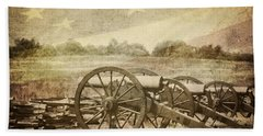 Cannons At Pea Ridge Bath Towel