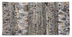 Can't See The Wood For The Trees Hand Towel by Dee Cresswell