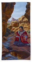 Canyon Cathedral Bath Towel