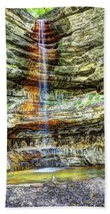 Canyon Starved Rock State Park Bath Towel