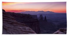 Canyonlands Sunrise Bath Towel