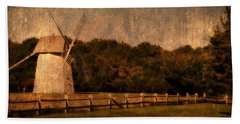 Cape Cod Windmill Hand Towel