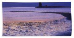 Cape Henlopen Lighthouse Bath Towel