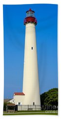 Cape May Lighthouse Bath Towel