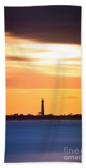 Cape May Lighthouse Vertical Version 2 Hand Towel