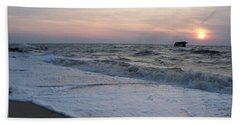 Cape May Sunset Beach Nj Bath Towel
