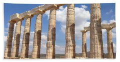 Cape Sounion Bath Towel