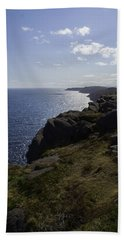 Cape Spear Coast Line  Bath Towel