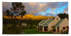 Bath Towel featuring the photograph Cape Sunset by Jeremy Hayden