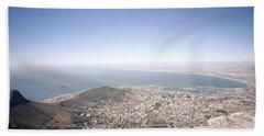 Cape Town Panorama Hand Towel by Shaun Higson