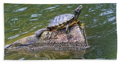 Captain Turtle Bath Towel